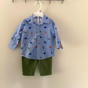 Carters formal shirt and pent